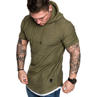 Mens 2020 Luxury Designer Tshirt Summer Short Sleeve Hooded ...