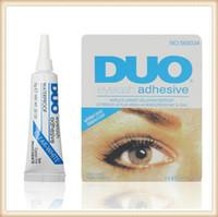 ماكياج العين لاش الغراء أسود أبيض لاصق مقاوم للماء الرموش الصناعية المواد اللاصقة الغراء الأبيض والأسود DHL المتاحة