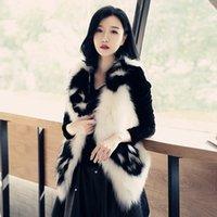 Pelliccia femminile Faux S-6xl moda donna autunno inverno abbigliamento imitazione gilet corto tenero teschio modello gilet cappotto