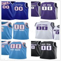 Custom Printed Jerseys Top Quality 2020 New Blue Black White...