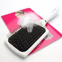 Saç Fırçalar Sharonds Profesyonel Tarak Bayanlar Modelleme Araçları Anti-statik Düz Yumuşak Fırça