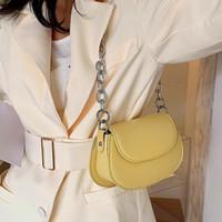 2020 New hot Crossbody Bags For Women High Quality Leather Ladies casual Shoulder Bags Luxury Designer Chains Messenger Bag Bolsas Feminina
