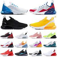 2020 NIKE AIR MAX 270 STOCK X Shoes Sneakers Spirit Teal free run nike 2020 nuove scarpe da corsa da uomo donna Marrone LIGHT BONE Scarpe da ginnastica firmate Barely Rose Tag rosa