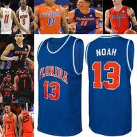 Benutzerdefinierte Florida Gators Statistiken College Basketball genäht Jersey Ncaa Locke Omar Payne Andrew Nembhard Scottie Lewis Tre Mann 13 Noah