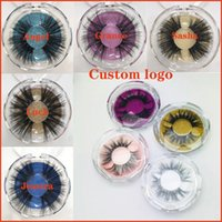 2020 Newest 25MM 3D Mink Eyelashes False Eyelashes 100% Mink...