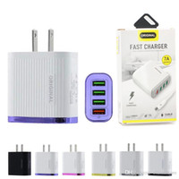 NUOVO Quick Charger USB 3.0 Caricabatterie per il Samsung s10 iphone 11Pro Tablet QC 3.0 Fast Charger parete US spina di UE Adapte con Package