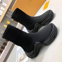 جديدة ذات جودة عالية مصمم أحذية السيدات الجوارب الرياضية منصة الأحذية العالية أعلى الأحذية والجلود والأحذية أزياء السيدات المطاط النساء الأحذية مع أوريجي