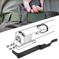 مخفي بندقية حزام كليب هولستر G17 19 22 23 24 25 26 27 28 30 30 ثانية 31 32 33 35 36 36 احمل مسدس مقطع الشرائح