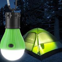 Lanterne de camping en plein air Hanging douce lumière LED Camp baladeuses ampoule de lampe pour tente de camping Pêche