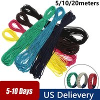 Camping & Hiking Paracord 7 Color Paracord 550 Ropes Dia...