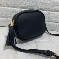 عالية الجودة حقيبة يد المرأة أكياس المحفظة حقائب CROSSBODY سوهو حقيبة ديسكو الكتف حقيبة مهدب حقيبة محفظة