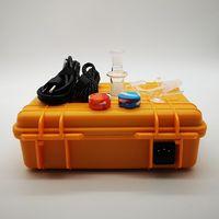 Vendita calda Pellicano E Nal Box con quarzo Nails elettrica enail Dab Box Kit 10 millimetri 16 millimetri 20 millimetri bobina Nero Giallo Temperature Control Box