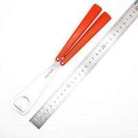 baliplus naranja Botella mariposa cuchillo de formación de formadores abridor no jilt el cuchillo afilado de libre oscilación herramienta de caza mayal cuchillos BM42 bm43 BM
