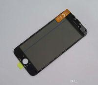 Top qualité pour iPhone 6G 50pcs Préinstallez Glass Repair avant avec Frame + OCA + Polarisation Film verre concassé Refurbish