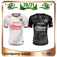 2020 멕시코 Liga MX 클럽 Tijuana 축구 유니폼 2020 홈 레드 Lucero Rivero Bolanos 축구 셔츠 클럽 Tijuana 멀리 축구 유니폼