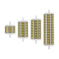 50 pçs / lote 10W 20W 25W 30W R7S LED Lâmpada 110 V 220V SMD5730 LED Lâmpada Luz R7S J118 J78 Tubo Substituir Halogéneo