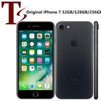 Reformado Original Apple iPhone 7 4.7 pulgadas Dactilar IOS A10 Quad Core 2GB RAM 32/128 / 256GB ROM Desbloqueado 4G LTE Teléfono