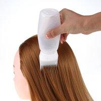 Moda do Hot Mulheres 1pcs tintura para cabelo Garrafa pincel aplicador profissional dispensação Salon Cabelos Coloring Estilo tingimento Ferramentas 918