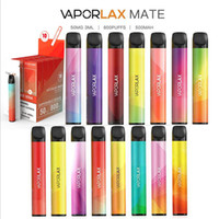 Original E-sigarettes vaporlax compagno monouso Pod 800 sbuffi 20 colori 500mAh batteria 3ml Atnet Capacità Potente vape Vuoto Penna VS Air Bar Plus