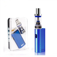 Alta Qualidade Lite 40 Starter Kits Jomo 40W Box Mod Bulit-in 2200mAh Bateria Vaporizador Kits 3ml Lite Tanque E Cigs Cigarros Vapor