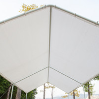 Carport Versatile Shelter Shade Shade 3x6 Auto Capannone Summer Canopy con 6 piedi Tubi bianchi Bicicletta Tenda da tenda da tenda da sole di alta qualità Tenda