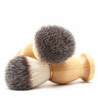 Superbe salon de salon de coiffeur brosse Noir poignée BLAIREAU FACE BARDE NETTOYAGE HOMMES RASTEAU RASSION Pinceau Nettoyage des outils de nettoyage 12 pcs