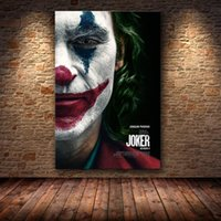 DC Comic Hero Wall Art Canvas Oil Painting Famous The Joker ...