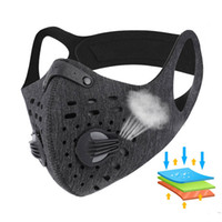 Cycling Party Face Mask Activated Carbon with Filter Anti- PM...