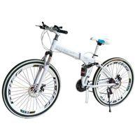 الدراجات الدراجة الجبلية الكربون الصلب عجلة واحدة 26 بوصة قابلة للطي هدية طالب سيارة الرجال والنساء عبر البلاد X6