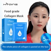Seaweed collagen Moisturising and Hydrating Black face Skin Care Increase Whitening mascarilla Anti Puffiness Wholesale face masks