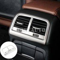 Для Audi A5 S5 Интерьер консоли Задний Воздуховод Выход Обрезка крышки 2008-2016 2pcs