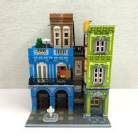 2020年に在庫がある新製品情報2020UG-10182 4143 PCSシティストリートホテルビルディングブロックレンガ教育玩具