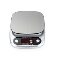 مقياس المطبخ الرقمية متعددة الوظائف الغذاء الوزن الميزان الخبز الطبخ مقياس مع شاشة LCD 5KG / 0.1G 10KG / 1G JK2005XB