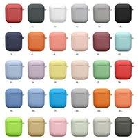 Etui en silicone pour AirPod Protector Case Crochet anti-perte Oreillettes pour Apple AirPod 3 écouteurs bluetooth