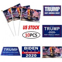 US Stock Fashion Trump 2020 Bandiera 90 * 150CM Classic Donald Keep America Grande Digital Print USA Banner decorazione del partito TTA6061