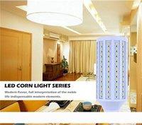 Lumière de maïs à LED SMD5050 E27 9W 12W 16W 20W 25W 30W LED Lampe d'ampoule AC85-265V 360 degrés Économie d'énergie à LED ampoules