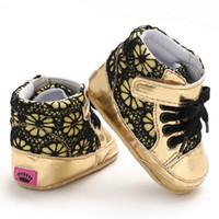 أحذية أطفال الربيع PU الجلد المدبوغ الرباط عارضة طفل رضيع الأزياء والأحذية القطن ووكر الأولى فتى شهم