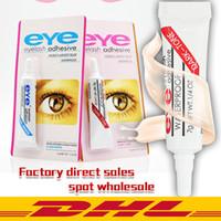 Nuovi sferza dell'occhio di trucco colla nero adesivo impermeabile Ciglia finte Colle Colla Bianco e nero Disponibile DHL