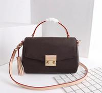 Ursprüngliche Qualitäts-Modedesigner-Luxus-Handtaschen-Geldbeutel-Beutel-Frauen Croisette Marken-klassische Art-echtes Leder-Schulter-Beutel