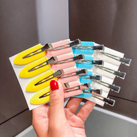 Accessori per capelli 2021 Corea Candy Colors Barrettes per la ragazza Trendy Moda Donna Tornante Copricapo Semplice Semplice clip laterale all'ingrosso