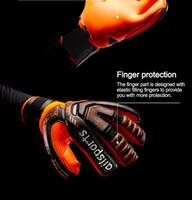 2020 Новый дизайн Профессиональный футбол Воротарь Главы Латексные Защиты Палец Защита детей Взрослые Футбольные Перчатки вратаря