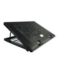 전문 외부 노트북 냉각 패드 슬라이드 방지 스탠드 노트북 쿨 팬 CPU 하드 디스크 쿨러