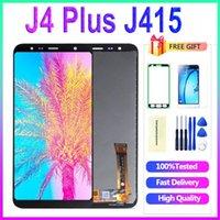 الأصلي للحصول على سامسونج J4 بالإضافة إلى 2018 J415 SM-J415F J415FN بتقنية الكريستال السائل استبدال الشاشة لسامسونج J4 + SM-J415G شاشة عرض الكريستال السائل