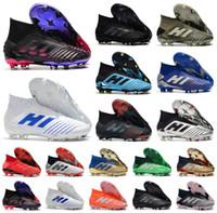 2020 الساخن المفترس 19+ 19.1 FG PP بول بوغبا الموسم 6 تشفير كود رجل بنين لكرة القدم لكرة القدم أحذية حجم 19 + س المرابط أحذية رخيصة 39-45