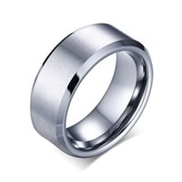 2020 New Fashion Charm Jewelry ring men stainless steel Gold silver color Black Rings For Women