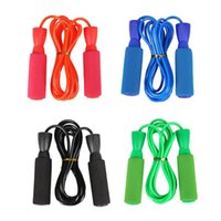 Newest Jump Rope Adjustable Length Speed Crossfit Workout Fitness Training Men WomenWeighted Jump Rope Aerobic Exercis