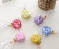 2020 Hot Sale Home Textiles Creative Cake Handduk Gift Bröllopsgåvor Födelsedagspresent Lollipop Julklappar 20 * 20cm