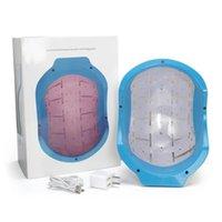 máquina anti-caída regeneración del cabello casco de la terapia de cuidado del cabello nuevo láser con 80 diodos aprobación de la CE