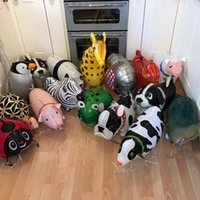 Mixes Walking Animal HELIUM Balloons Cute Cat Dog Panda Dino...