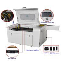 ZD460 CE 50W CO2 النقش بالليزر وآلة قطع الليزر حفارة الليزر 460 50W مصغرة آلة القطع بالليزر الحرفية ل الخشب الرقائقي MDF